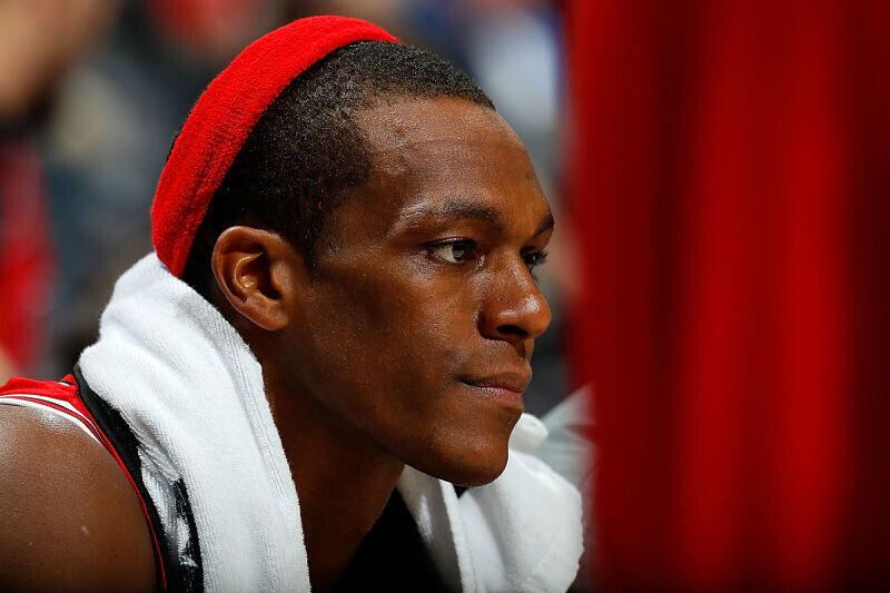 Rajon Rondo, jugador de Chicago Bulls