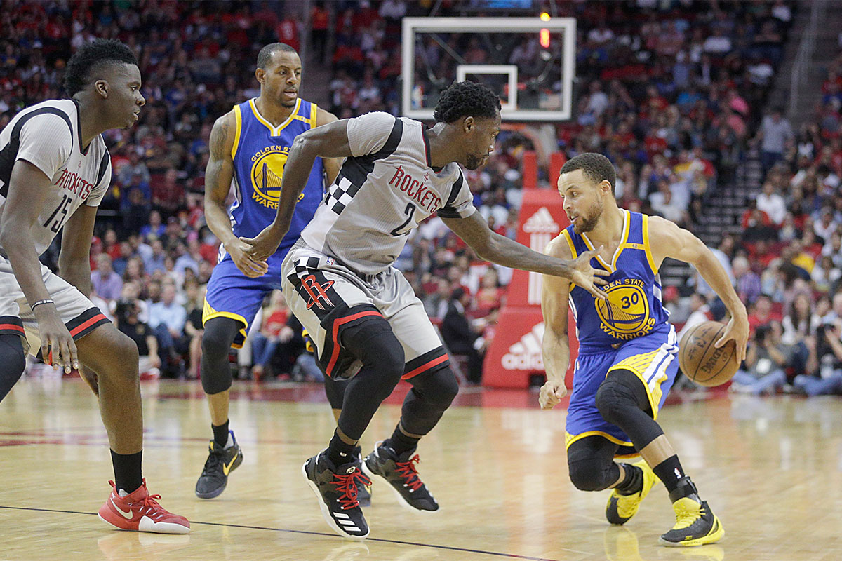 Stephen Curry, Patrick Beverley