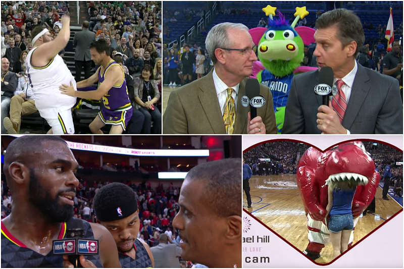 Los bloopers de la NBA