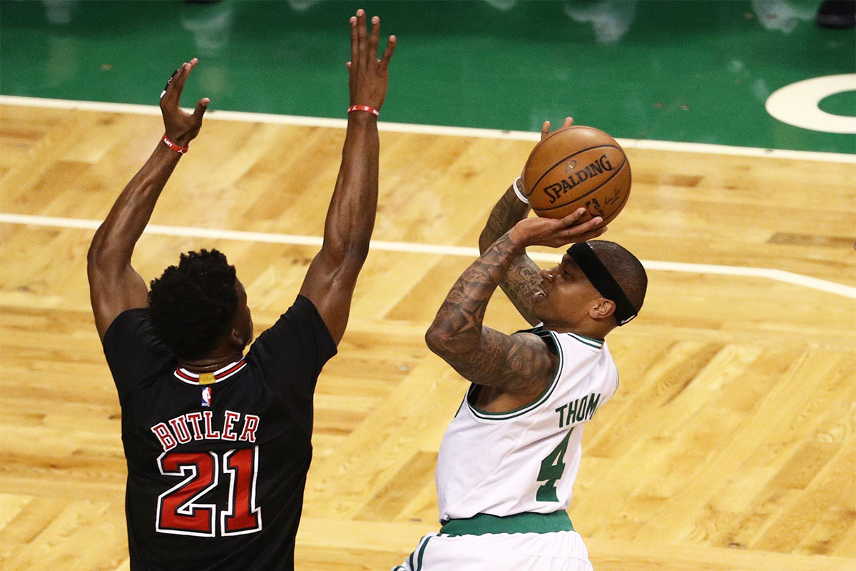 Jimmy Butler, Isaiah Thomas