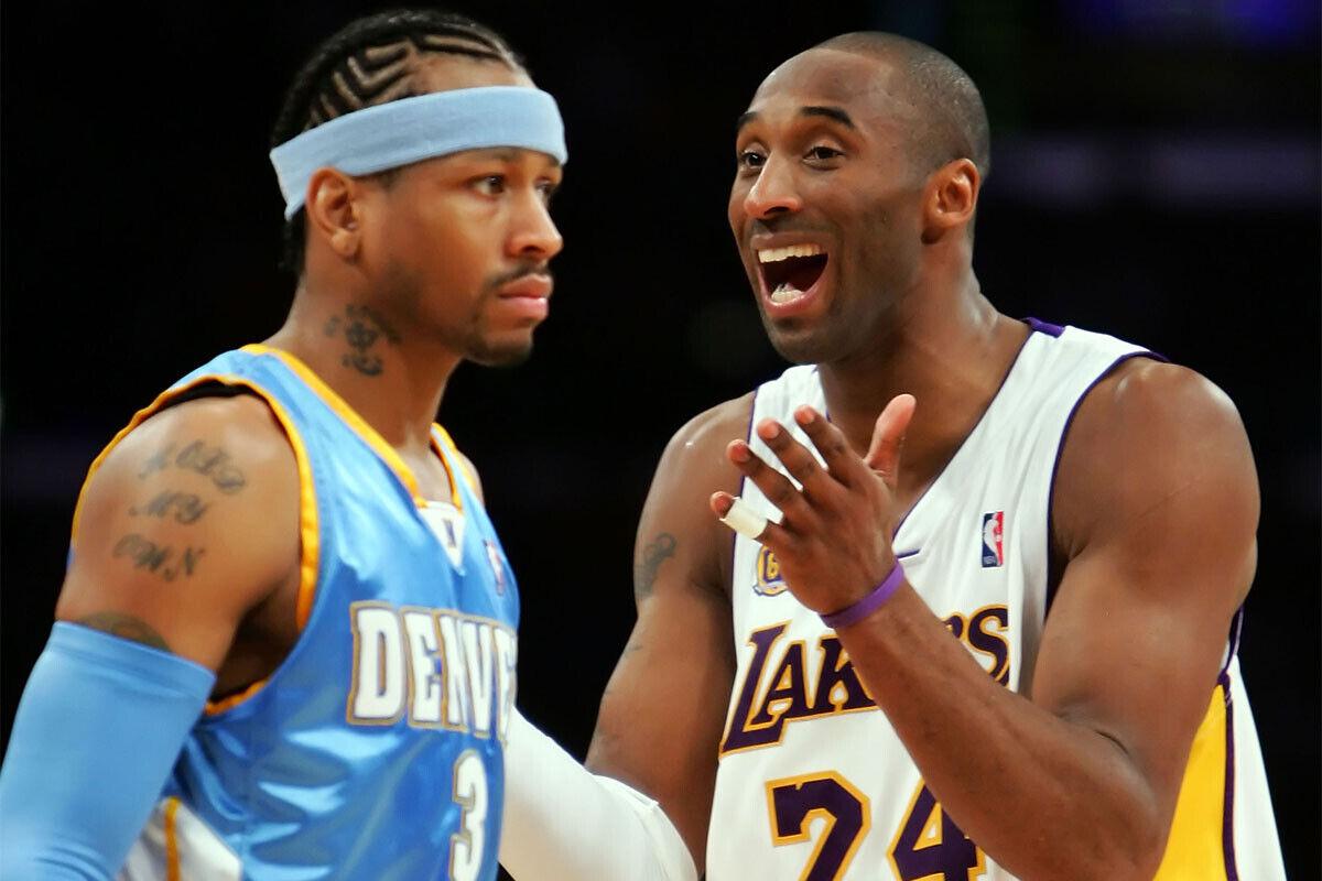 Kobe Bryant, Allen Iverson