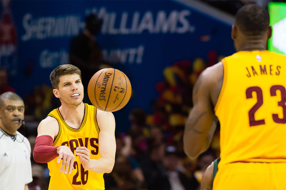 Kyle Korver, LeBron James