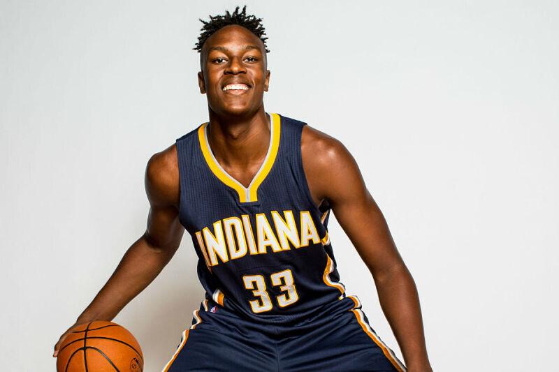 Myles Turner, jugador de Indiana Pacers