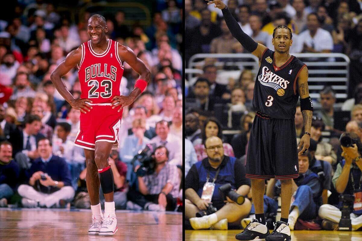 No autorizado Educación profundidad  Allen Iverson habla de su duelo de zapatillas con Michael Jordan