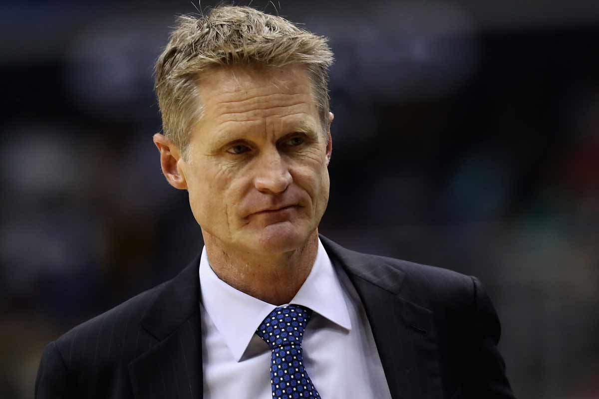 Steve Kerr, entrenador de Golden State Warriors