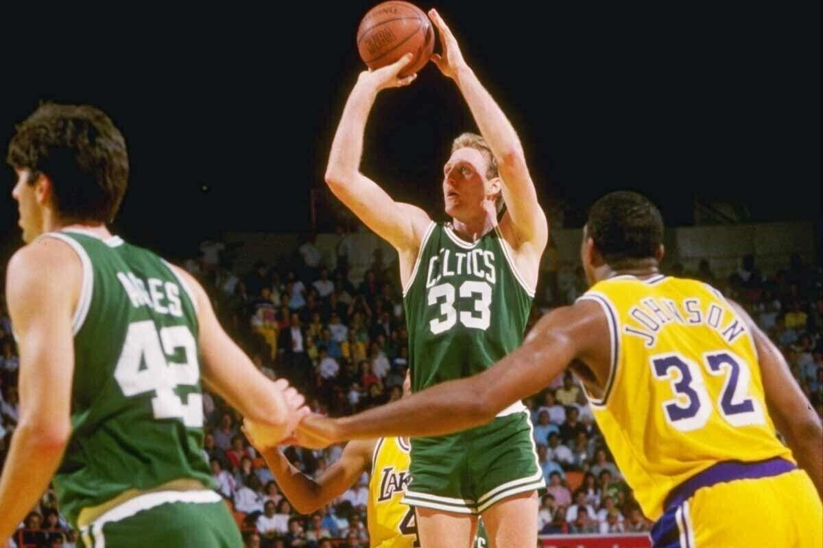 Imágenes de 1987 de Boston y Lakers