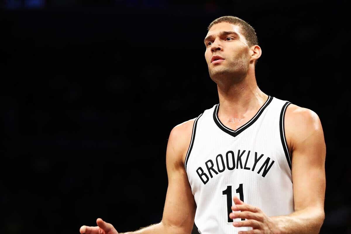 Brook Lopez, jugador de Brooklyn Nets