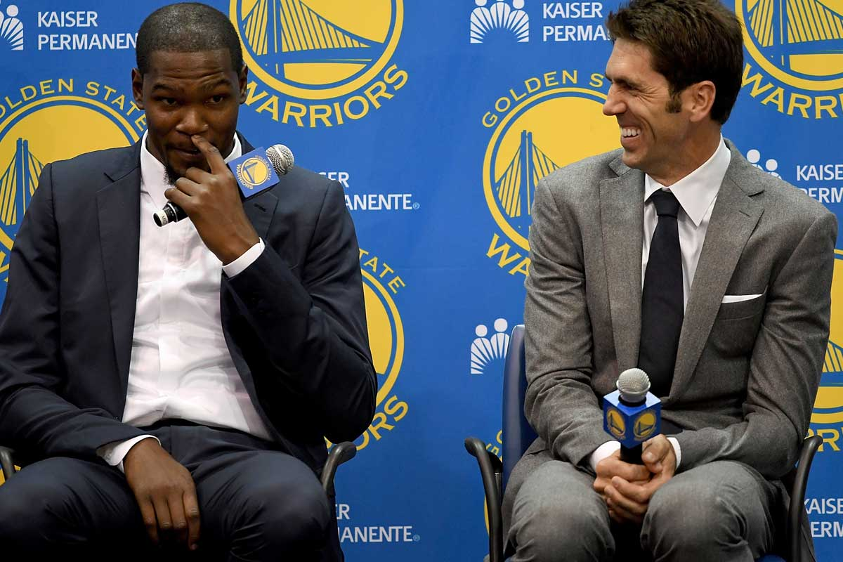 Bob Myers, General Manager de los Warriors