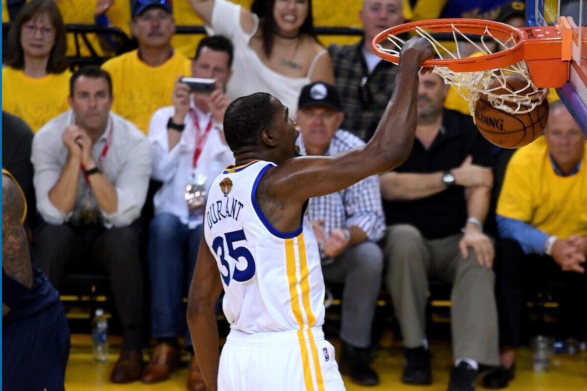 Kevin Durant, jugador de Golden State Warriors