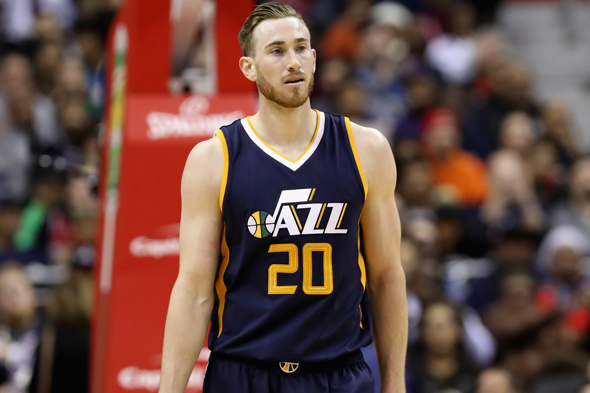 Gordon Hayward, jugador de Utah Jazz