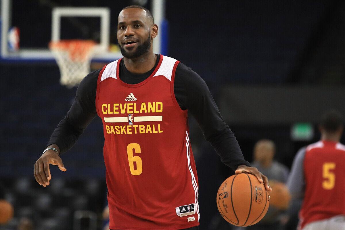 LeBron James, jugador de Cleveland Cavaliers