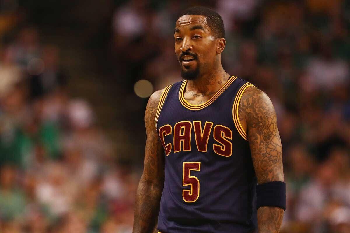 j. R. Smith, jugador de Cleveland Cavaliers