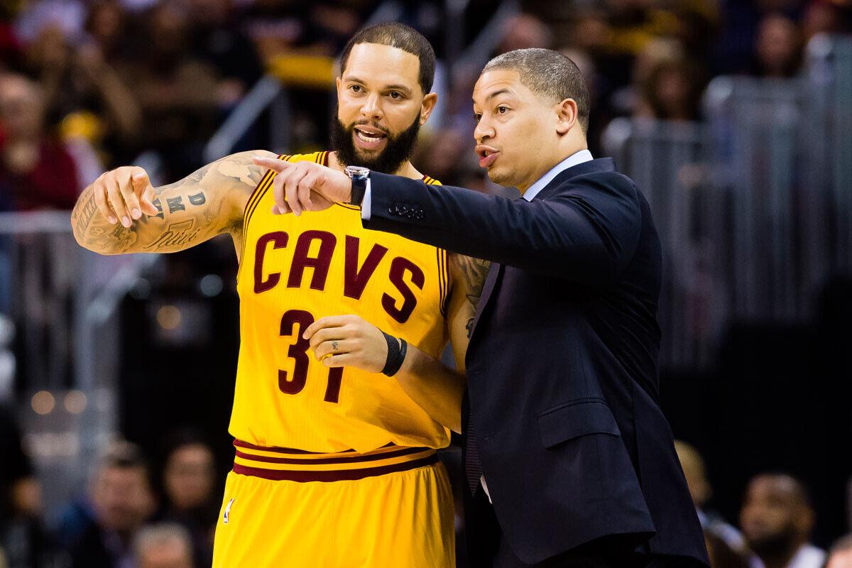 Deron Williams y Tyronn Lue, Cleveland Cavaliers