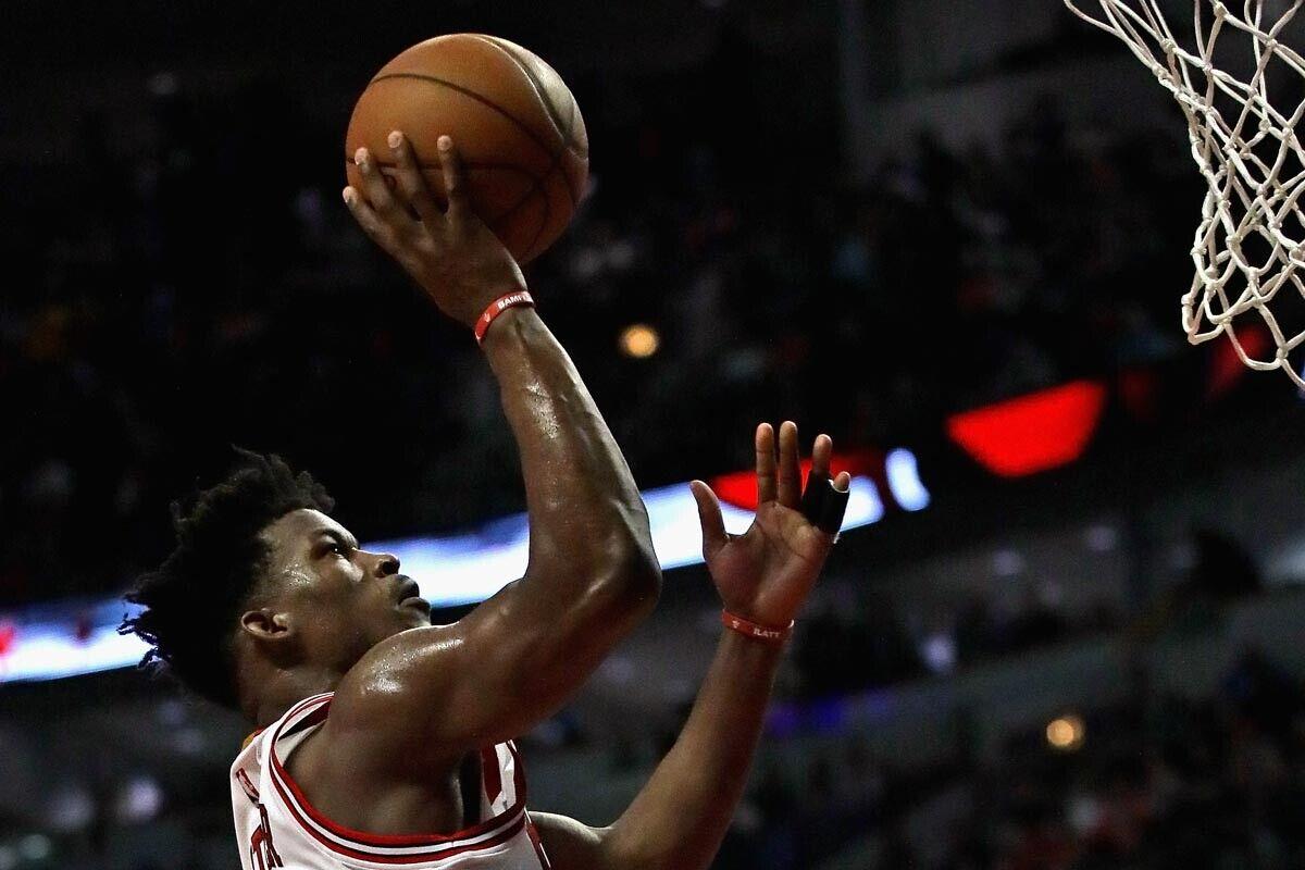 Jimmy Butler, jugador de Chicago Bulls