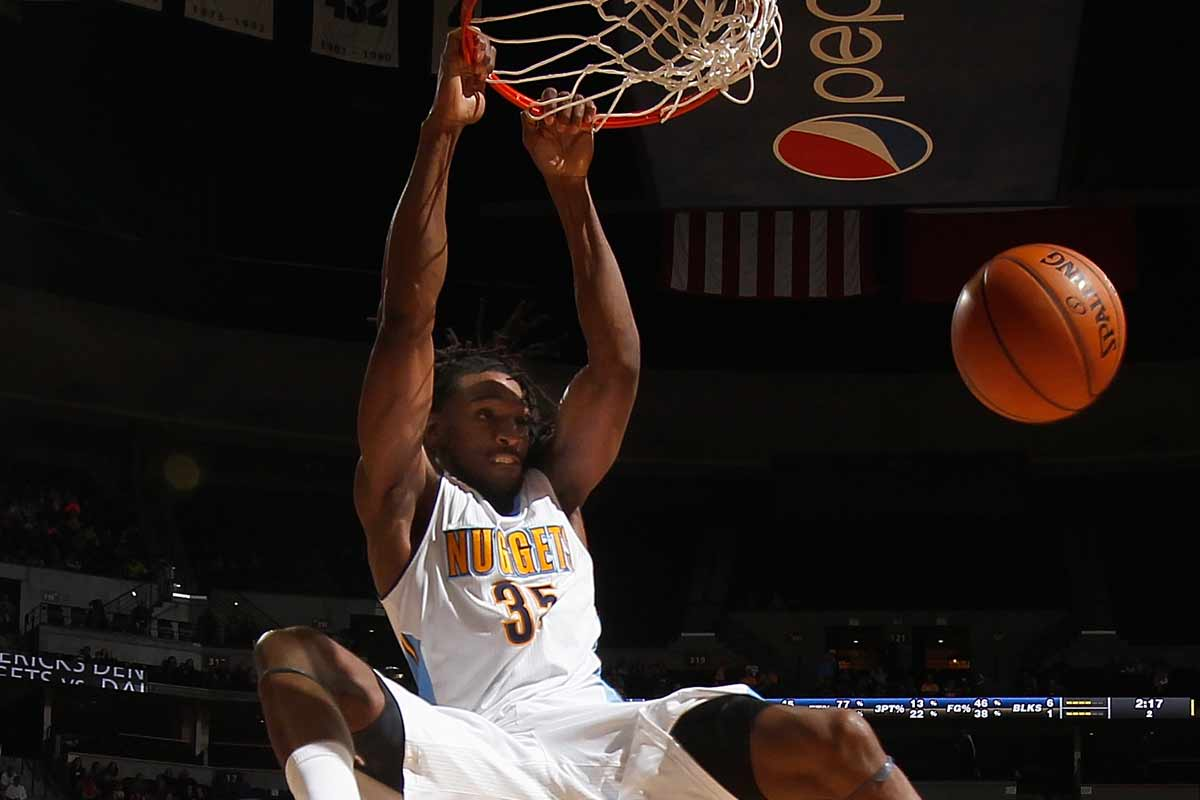 Kenneth Faried, jugador de Denver Nuggets