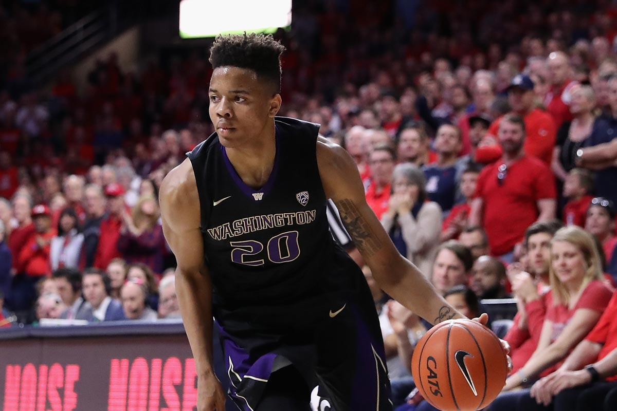 Markelle Fultz, jugador de la Universidad de Washington