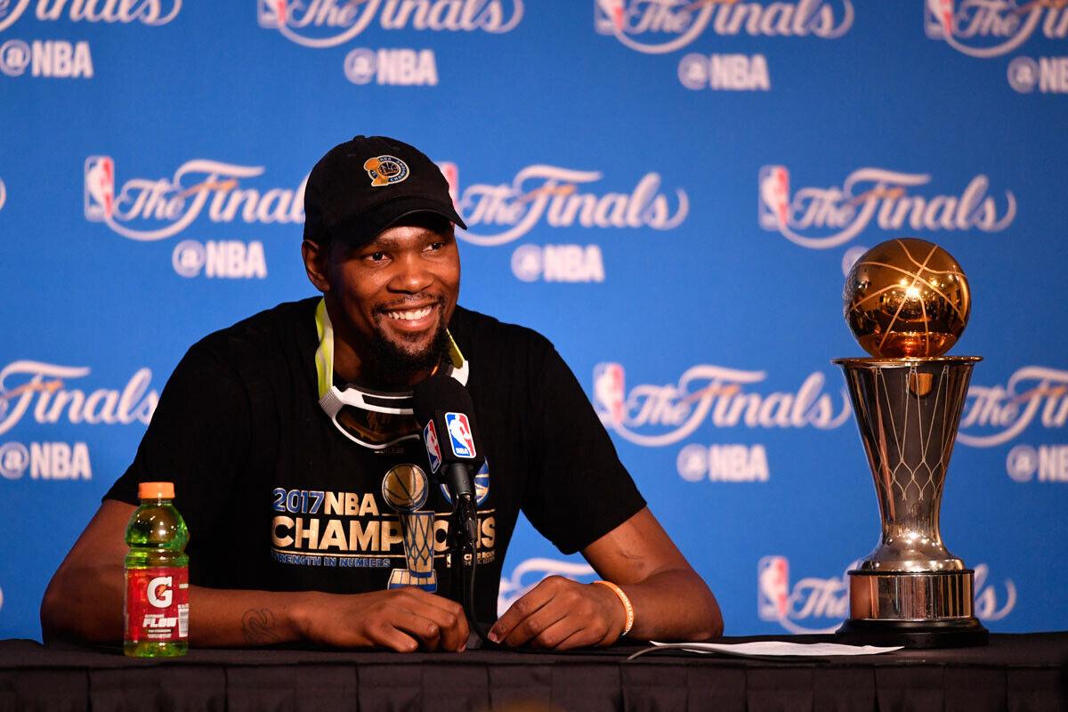 Los Warriors vuelven a ser los campeones de la NBA
