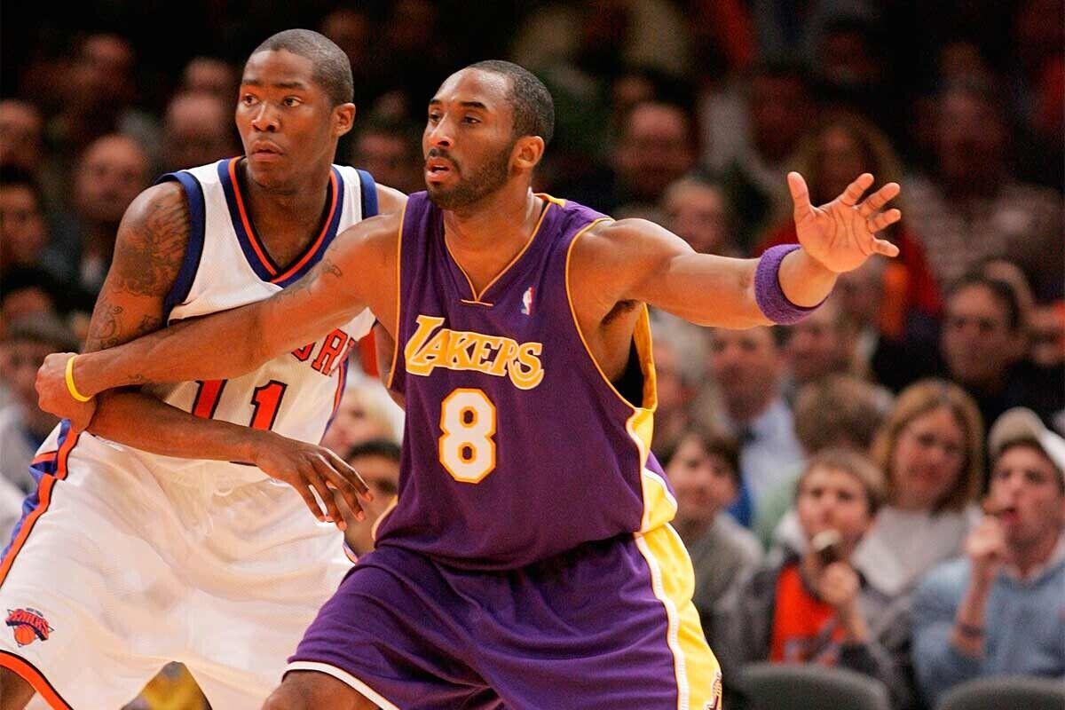 Jamal Crawford y Kobe Bryant