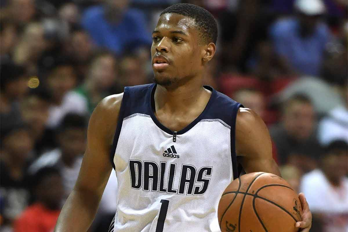 Dennis Smith Jr, jugador de Dallas Mavericks