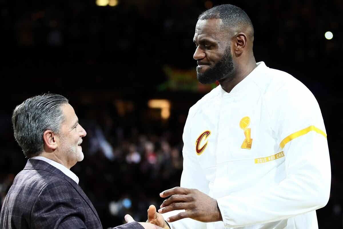LeBron James y Dan Gilbert, Cleveland Cavaliers