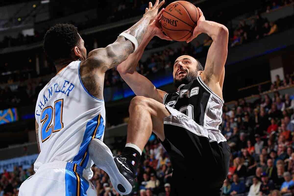 Manu Ginobili, jugador de San Antonio Spurs