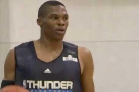 Rusell Westbrook, jugador de Oklahoma City Thunder
