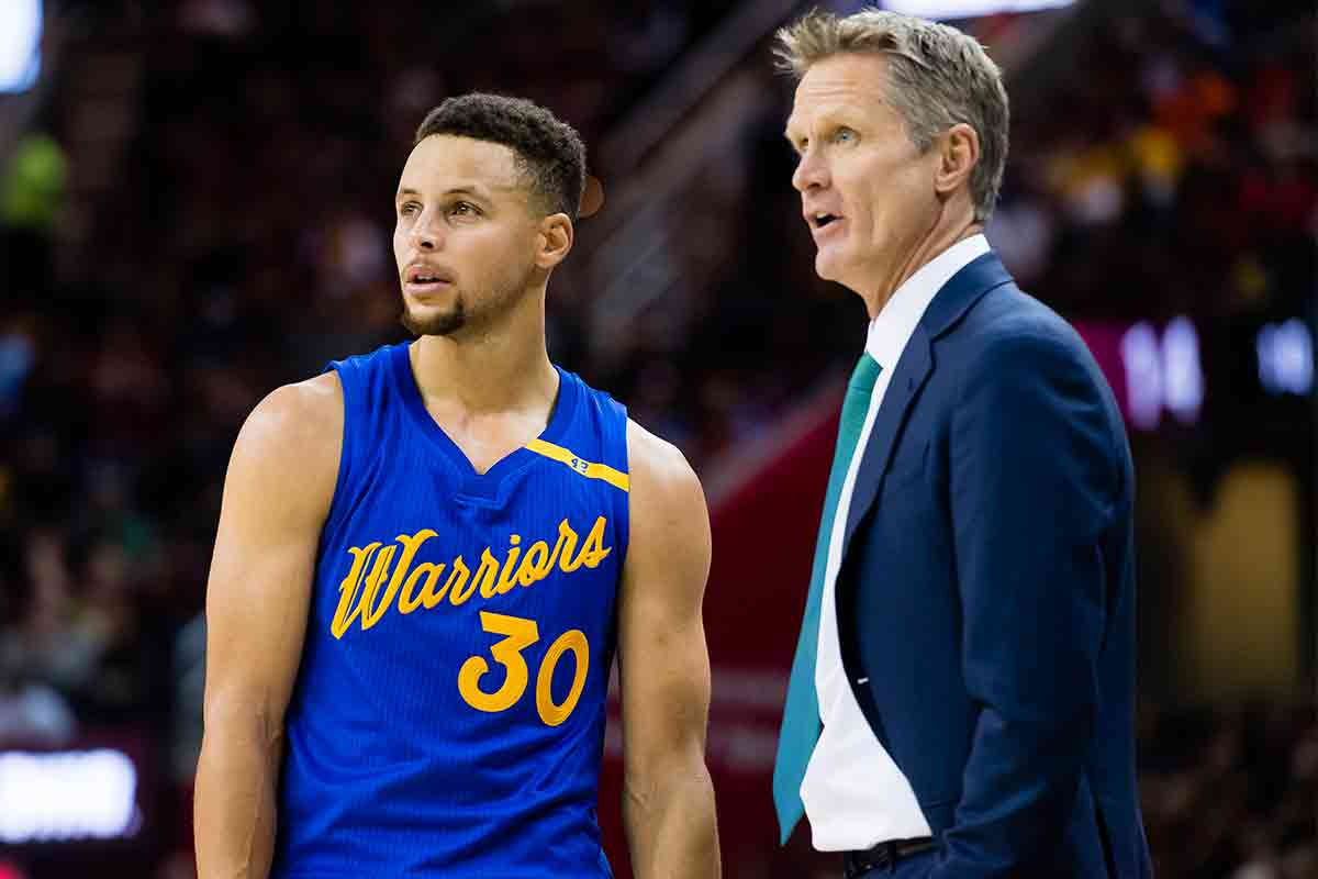 Stephen Curry y Steve Kerr, Golden State Warriors