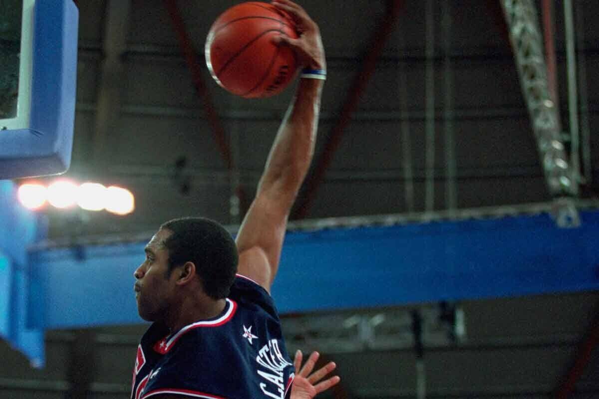 Vince Carter, jugador de Sacramento Kings