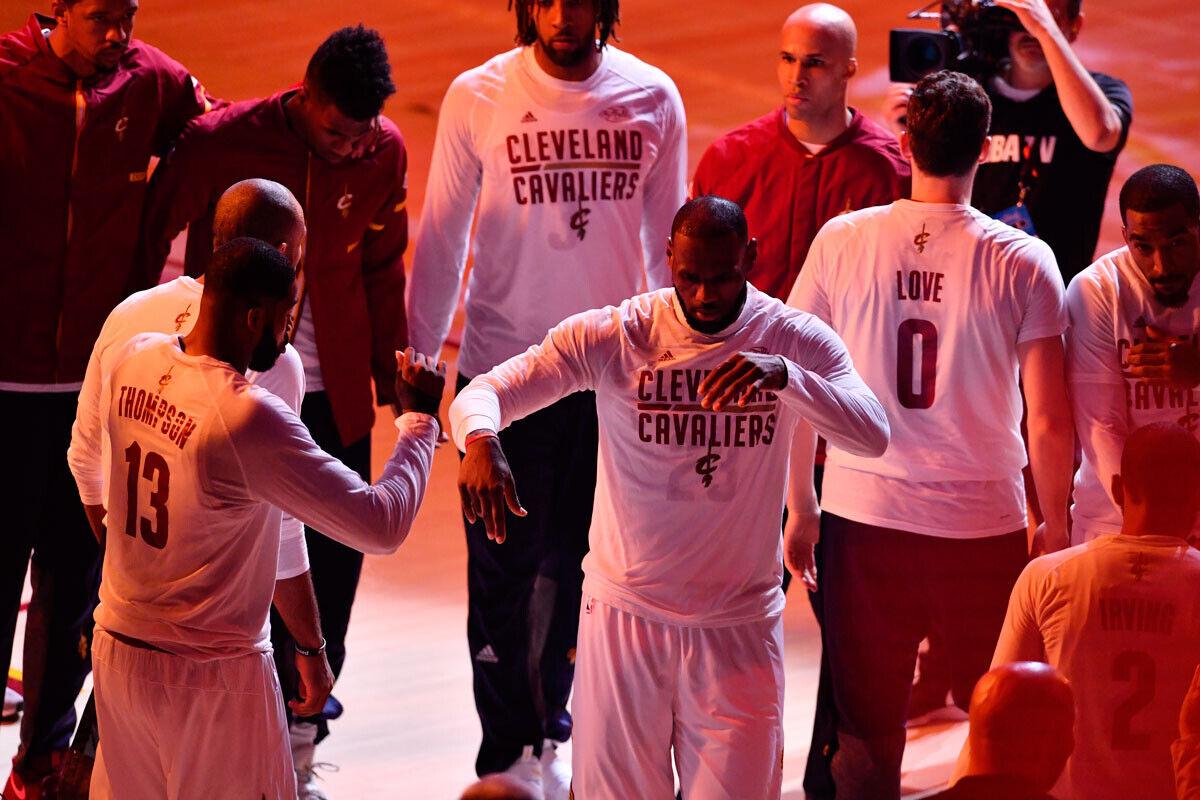 Se Filtra El Nuevo Uniforme De Cleveland Cavaliers