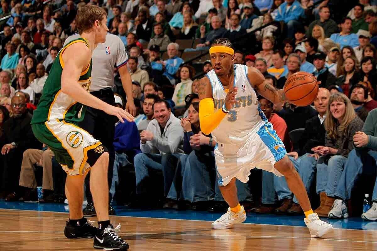 Allen Iverson, ex jugador de la NBA.