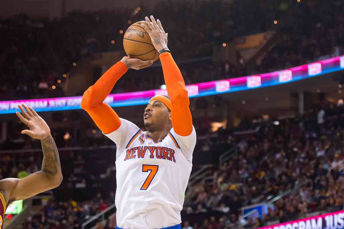 Carmelo Anthony, jugador de New York Knicks