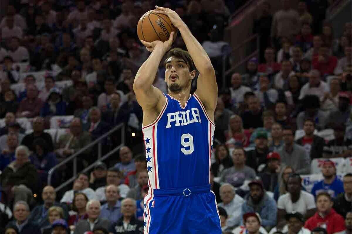 Dario Saric, jugador de Philadelphia 76ers