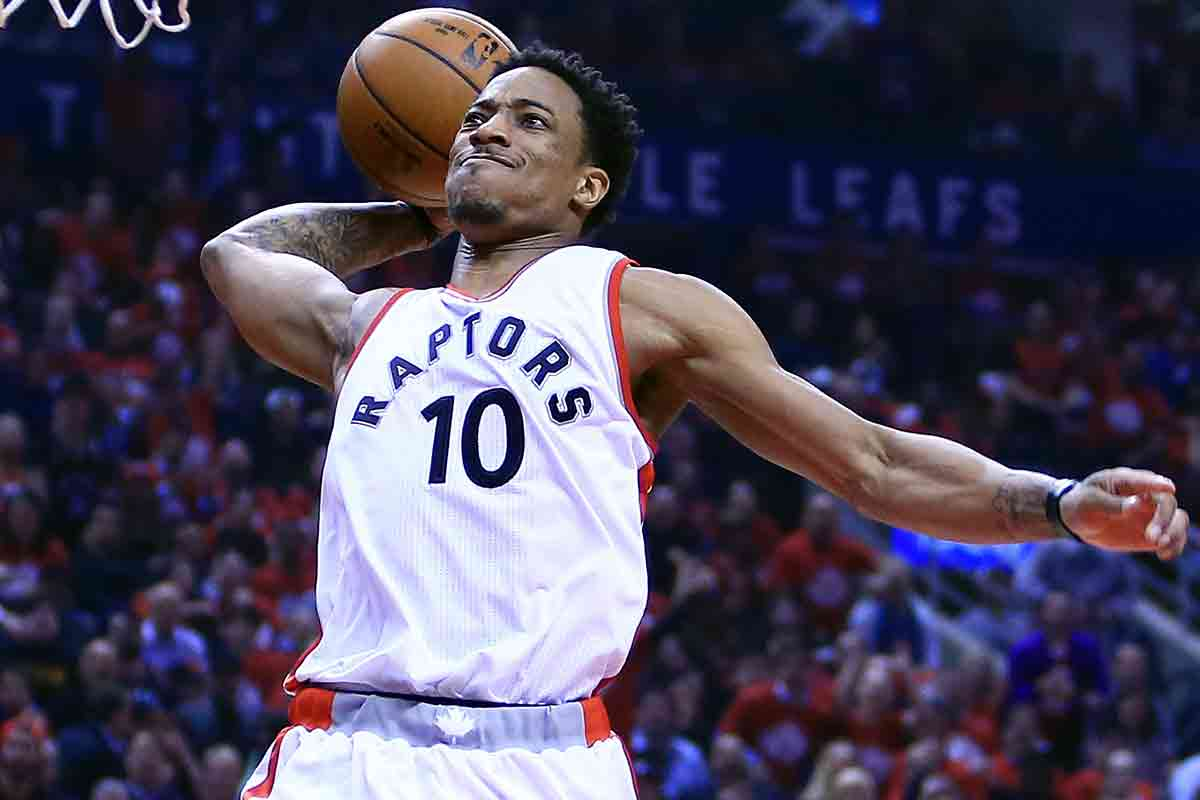 DeMar DeRozan, jugador de Toronto Raptors