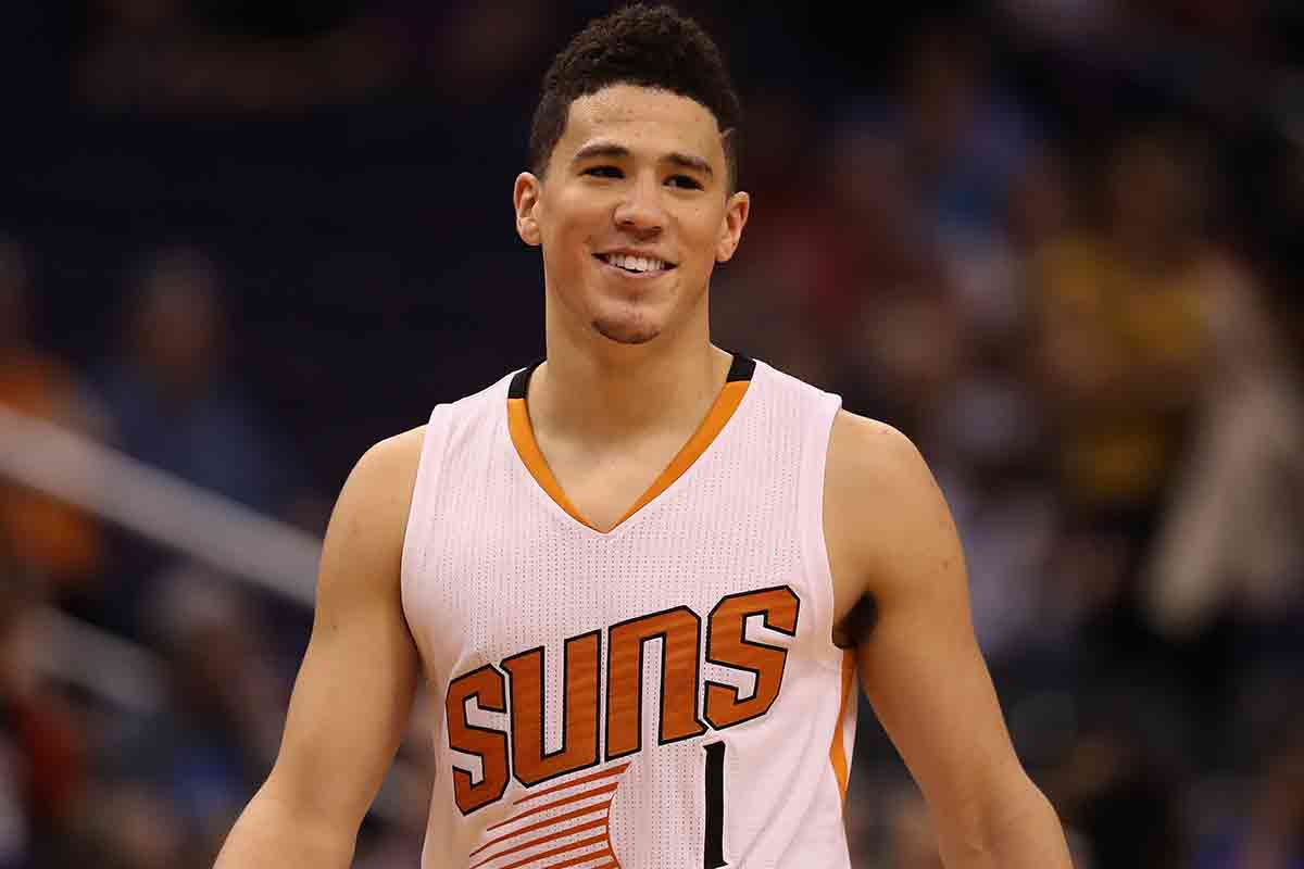 Devin Booker, jugador de Phoenix Suns