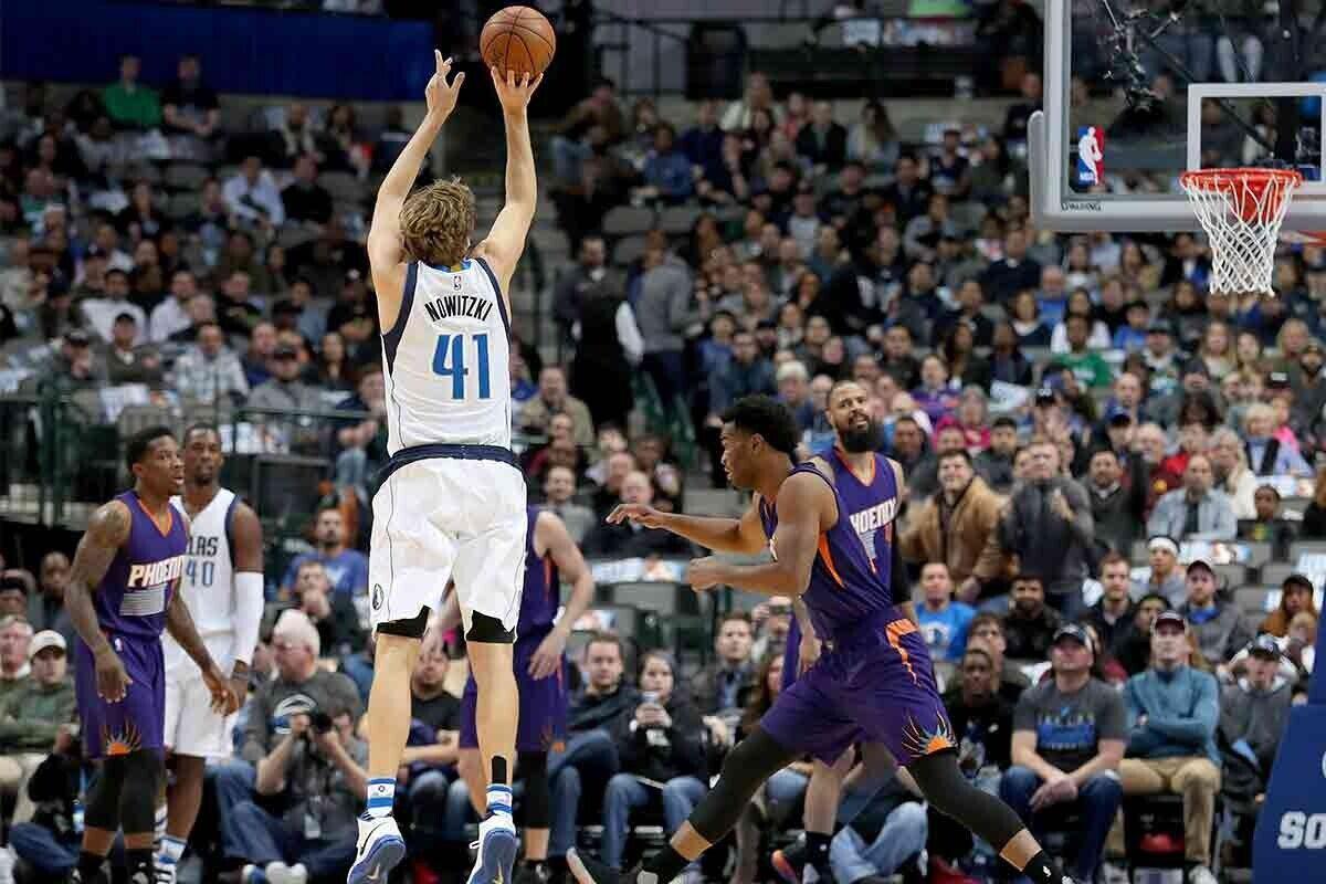 Dirk Nowitzki, jugador de Dallas Mavericks
