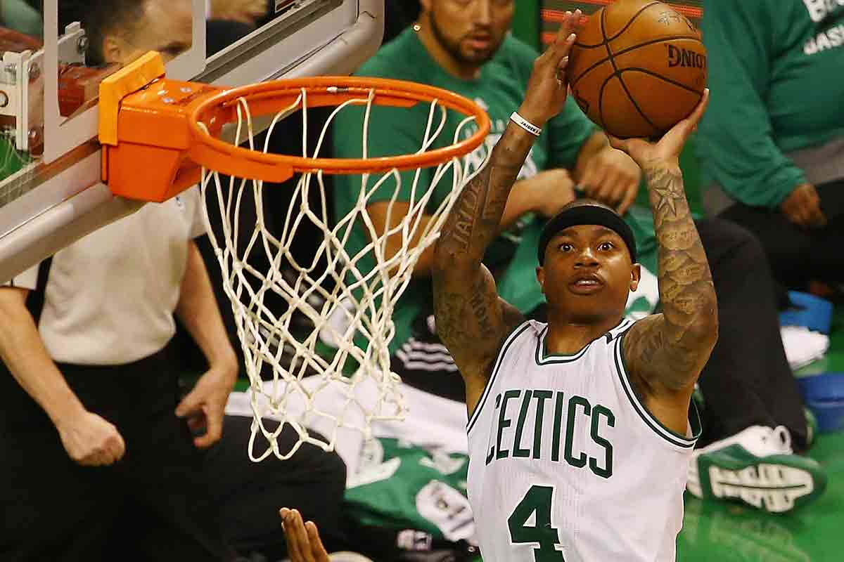 Isaiah Thomas, jugador de Boston Celtics