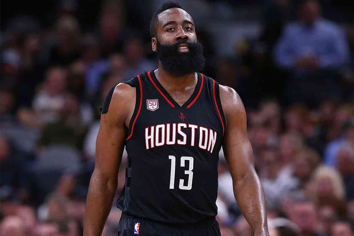 James Harden, jugador de Houston Rockets