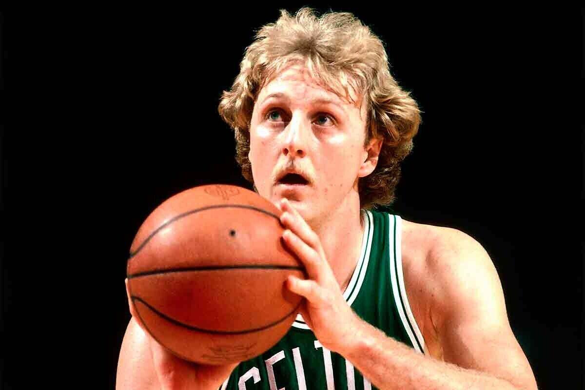 Larry Bird, ex jugador de la NBA
