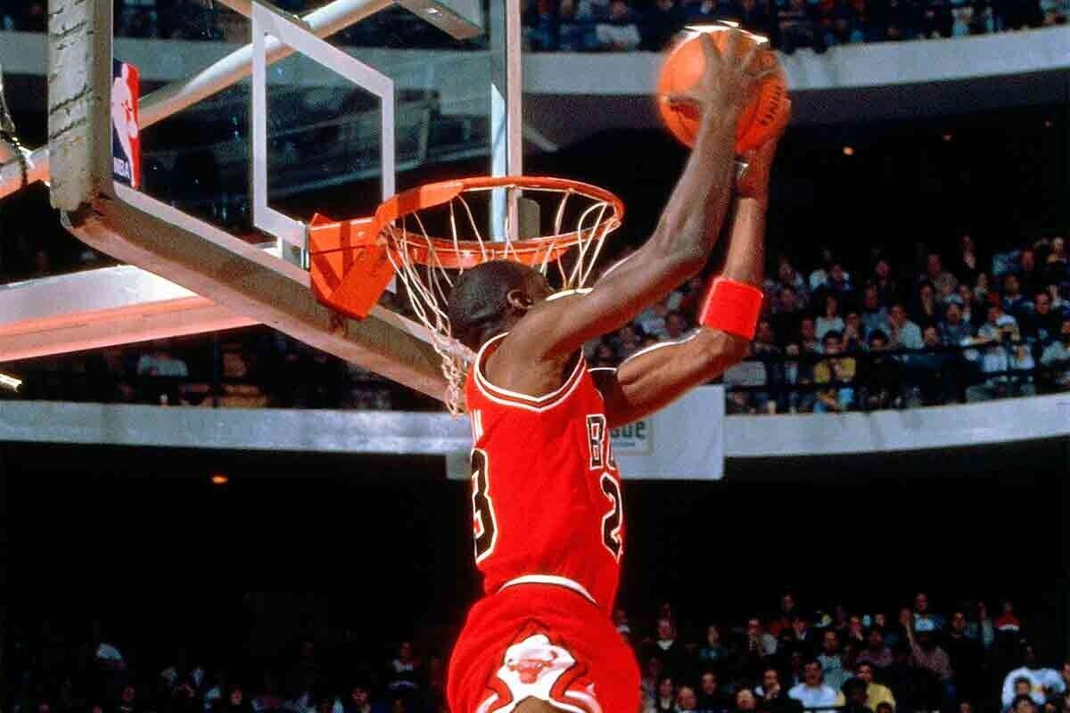 Michael Jordan, ex jugador de la NBA