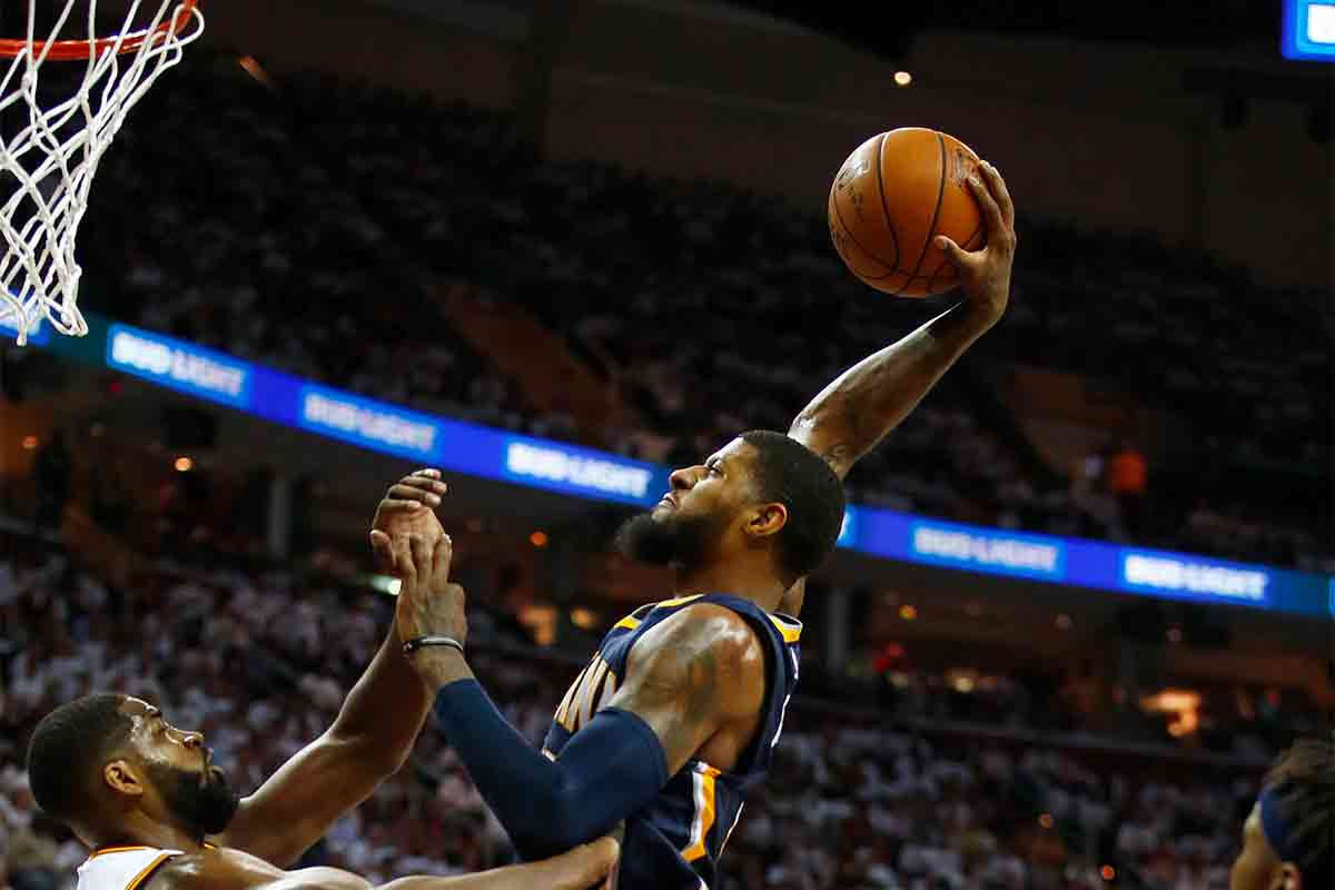 Paul George, jugador de Indiana Pacers