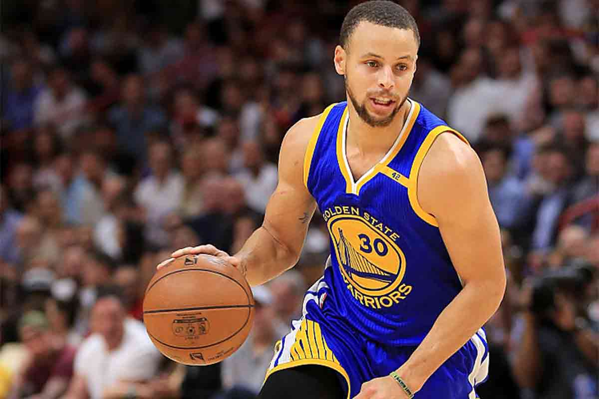 Stephen Curry, jugador de Golden State Warriors