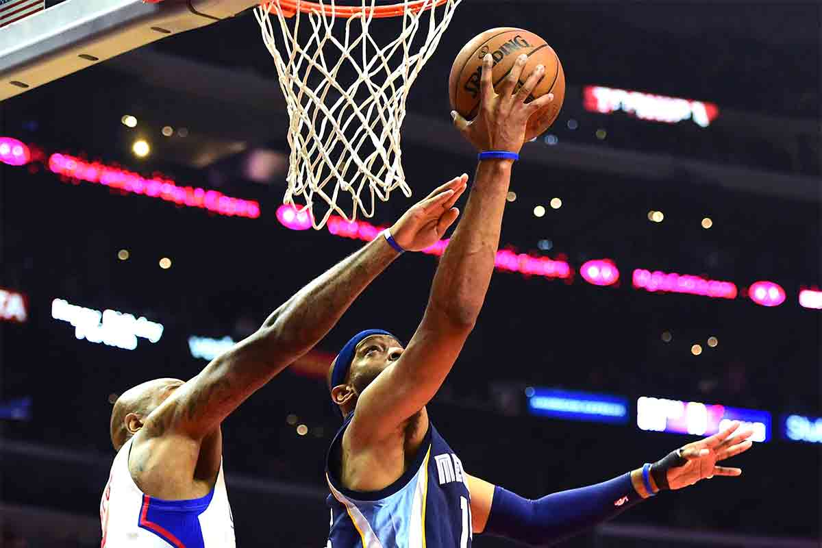 Vince Carter, jugador de Memphis Grizzlies