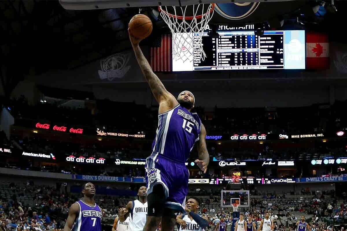 DeMarcus Cousins, jugador de New Orleans Pelicans