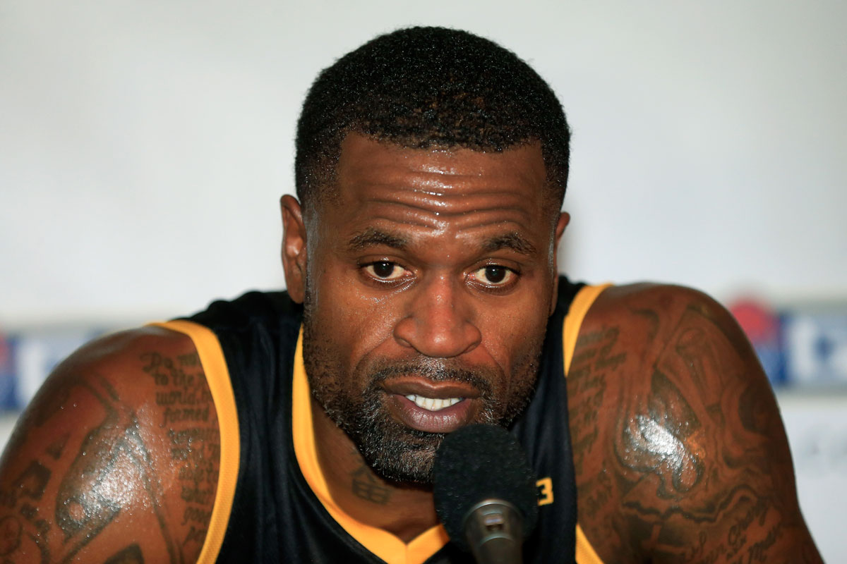 Stephen Jackson campe³n de la NBA en 2003 quiere volver a la Liga