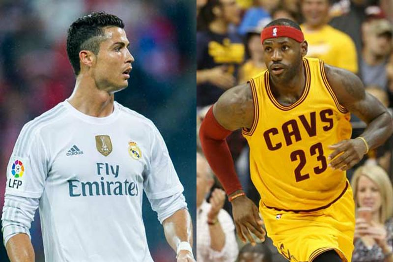 Cristiano Ronaldo está más en forma que LeBron James
