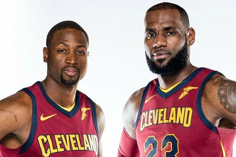 Dwyane Wade y LeBron James, juntos en Cleveland