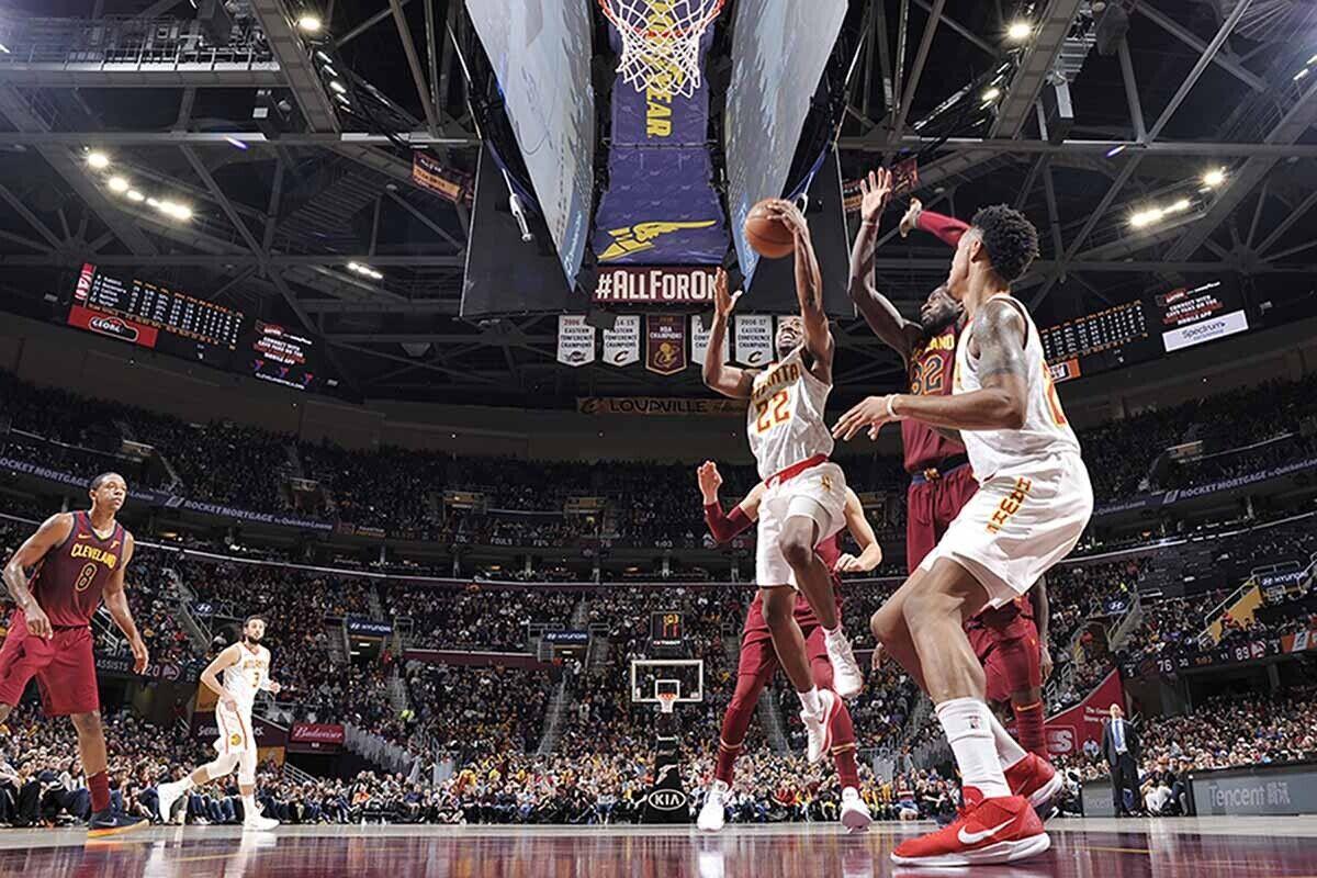 Cleveland pierde contra el sotanero