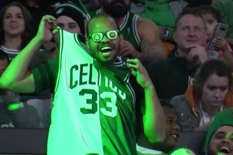 Fan de Boston celtics
