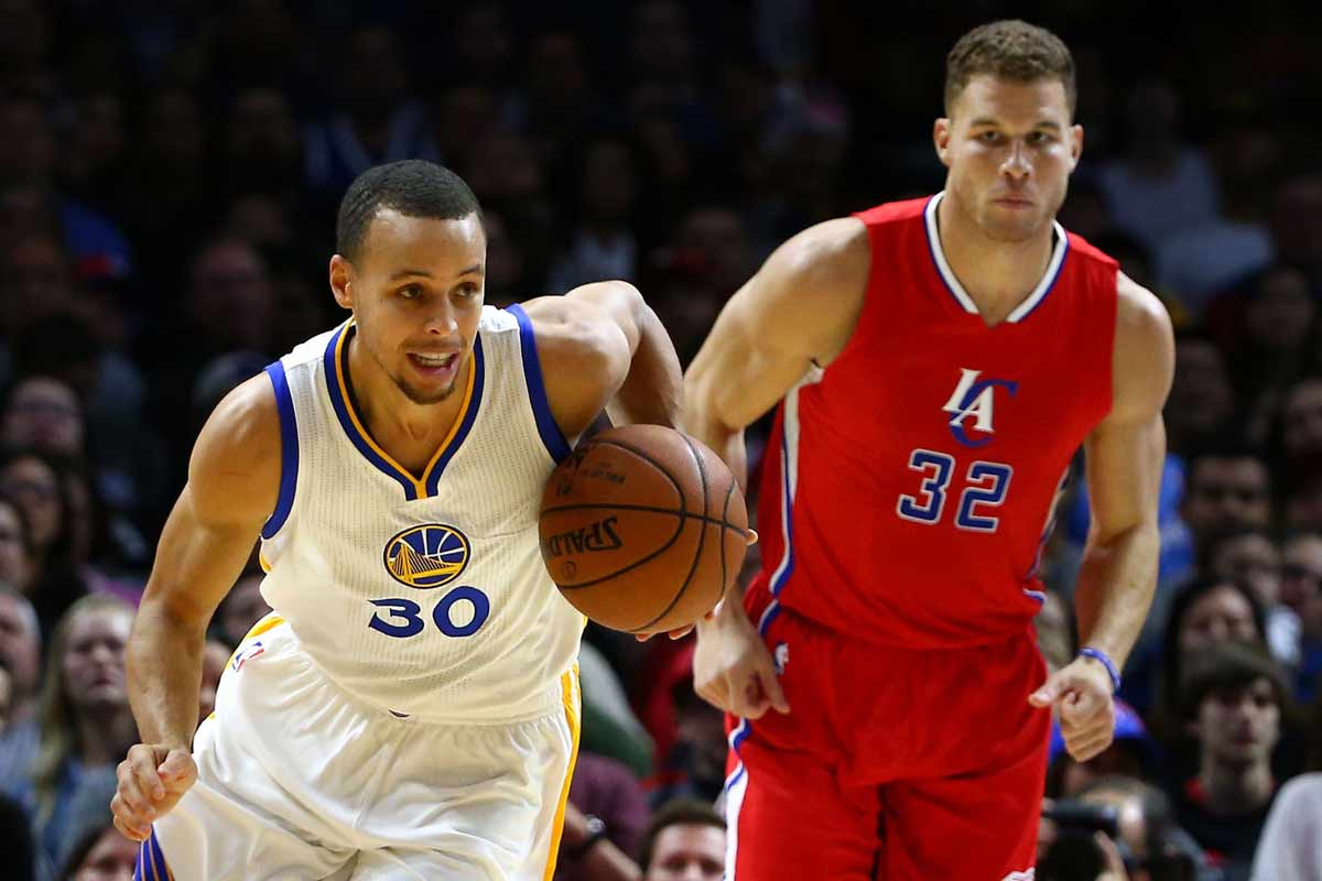 Stephen Curry y Blake Griffin