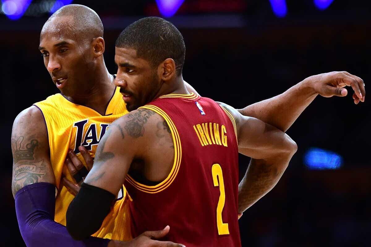 Kobe Bryant y Kyrie Irving